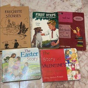 Vintage lot of children's books!
